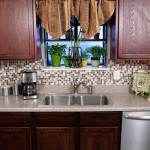 How Install Mosaic Backsplash Two Hours Architecture