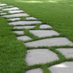 How Lay Down Stone Pathway Build House