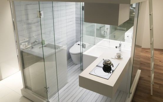 How Live Small Space Bathroom Interior Design Inspiration