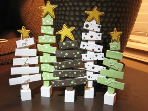 How Make Cheap Easy Christmas Decorations Popsicle Sticks