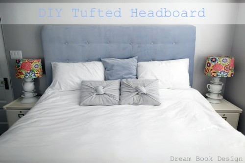 How Make Diy Tufted Headboard Dream Book Design