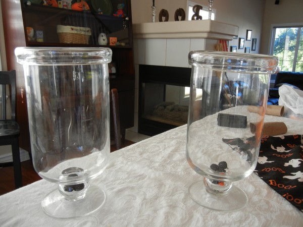 How Make Homemade Halloween Candy Vases Budget