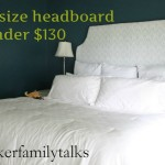 How Make King Size Headboard For Less Than Dollars Diy