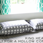 How Make King Size Headboard From Hollow Core Door
