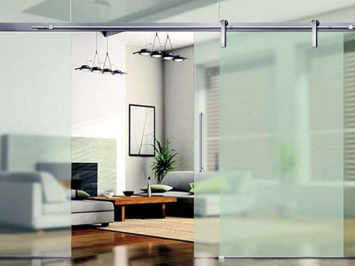 How Make Room Divider Frameless Slidding Glass Design Stroovi