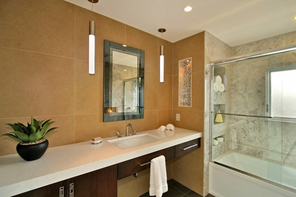 How Remodel Small Bathroom Into Beautiful One Home