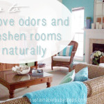How Remove Odors And Freshen Rooms Naturally From