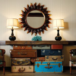 How Reuse Old Suitcases Home Decor Furnish Burnish