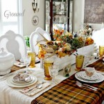 How Set The Perfect Thanksgiving Table Tablescapes And Recipes