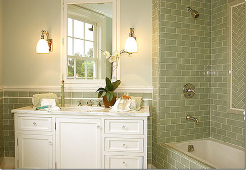 How Tile Bathrooms Kitchens Using Metro Subway Tiles