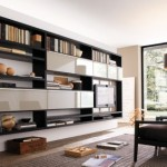How Use Living Room Walls Create Modern Shelves Daily Source