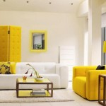 How Use Yellow Highlight Your Living Room