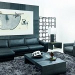 Ideas Black White Living Room Designs Natural Painting