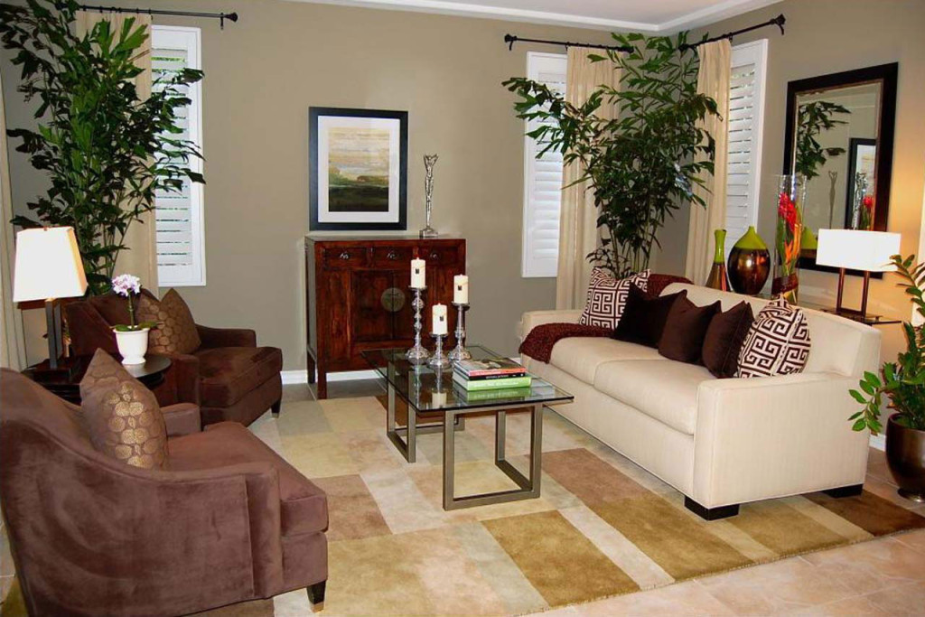 Ideas Creating The Home Decorating Spring Living Room