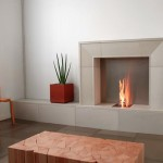 Ideas Fireplace Surround Modern Electric Grey Stone