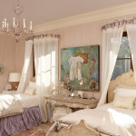 Ideas For Canopy Twin Girls Beds House Design Decor Interior