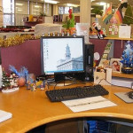 Ideas For Christmas Office Decorations