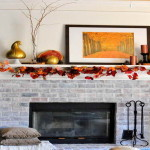 Ideas For Fall Decorating Home Fireplace