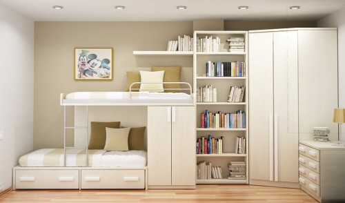 Ideas For Small Rooms From Sergi Mengot Room Design