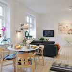 Ideas Living Room Designs Beautiful Swedish Apartaments