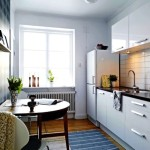 Ideas White Color For Small Apartments Get The Cheap Decorating