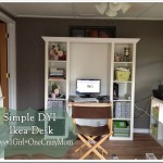 Ikea Expedite Desk Process Dyi Makeover Simple Idea