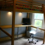 Ikea Hackers Loft Bed And Work Station Storage Ideas
