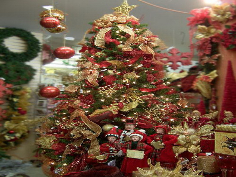 Images Decorated Christmas Trees Mapsoul