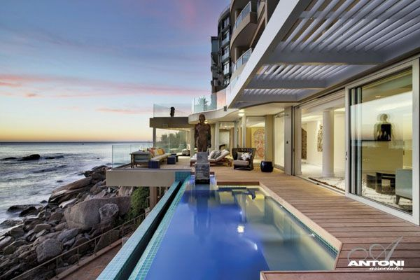 Impressive Two Story Apartment Cape Town Clifton Beach Homes
