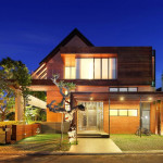Indonesia Luxury Homes Living Large Site Small Modern House