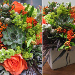 Ink And Peat Floral Arrangements For Modern Garden
