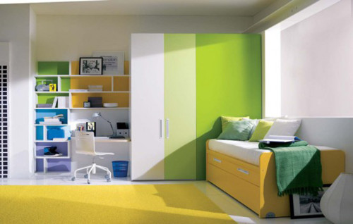 Inspirational Green Color Decor For Teen Room One Total Images