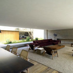 Inspired Brazilian Architecture Open Modern House Living Spaces