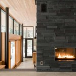 Inspiring Modern Fireplaces Design Stone Fireplace House