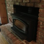 Installation Wood Fireplace Insert Out Panels Does Our
