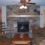 Installation Wood Stove Stone Fireplace Design Ideas Furniture
