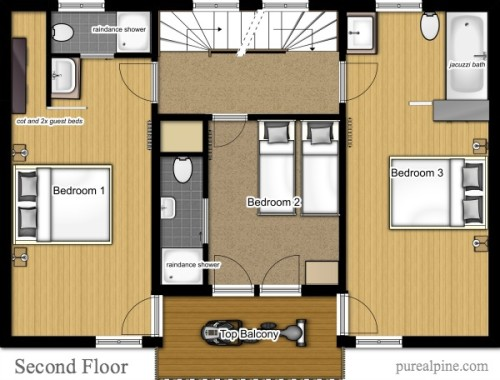 Interactive Floor Plans Ground First Second