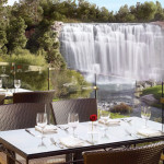 Interior And Exterior Design The Country Club Las Vegas Waterfall