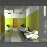 Interior And Furniture Website Template Home Page