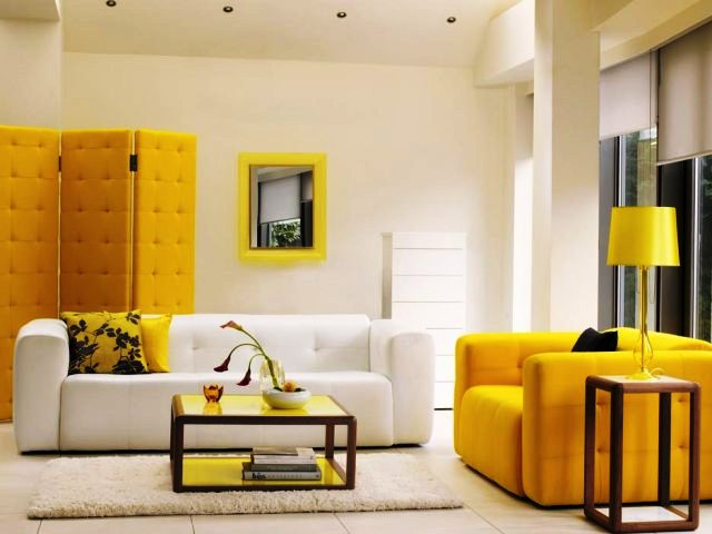 Interior Color Trend Yellow Soft Colors