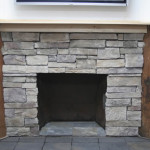 Interior Design How Cover Brick Fireplace Stone