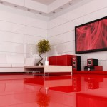Interior Design Red Modern