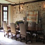 Interior Designs Stone Veneer Brown Wall