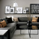 Interior Painting Idea Using Gray The Base Color Highlight