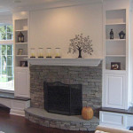 Interior Stone Veneer Fireplace Harbour Mist Pinnacle