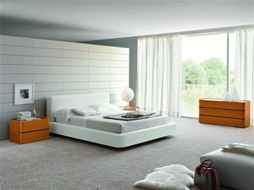 Italian Furniture Modern Bedroom Design Interior