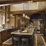 Italian Kitchens Small Space Rustic Traditional