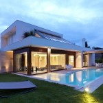 Italian Modern House Design Pool More Plans All About