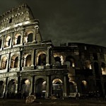 Italy Black And White Colosseum Latest