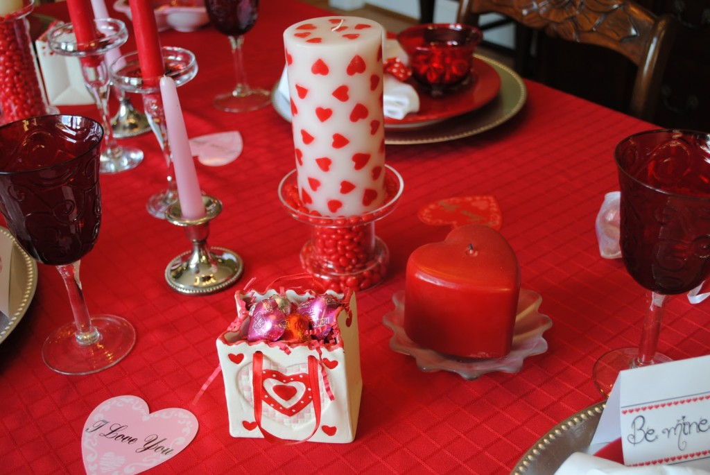 Its The Little Things Valentine Table
